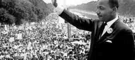 O ativista Martin Luther King Jr fez o discurso 'Eu tenho um sonho' em 1963